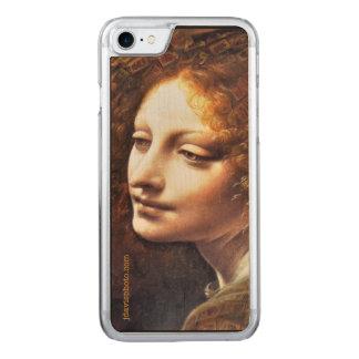 Da Vinci Mahj-Angel Wood Grain Phone Case