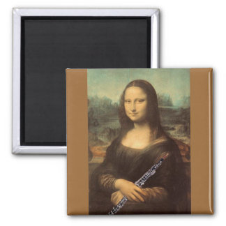 Da Vinci, Mona Lisa and Oboe Magnet