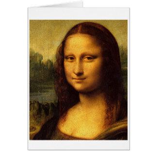 Da Vinci Mona Lisa Card