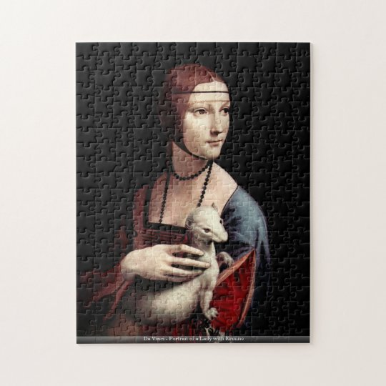 Da Vinci - Portrait of a Lady with Ermine Jigsaw Puzzle