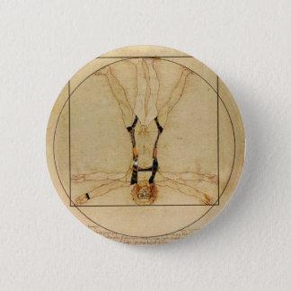 da Vinci Skydiving 2 Inch Round Button