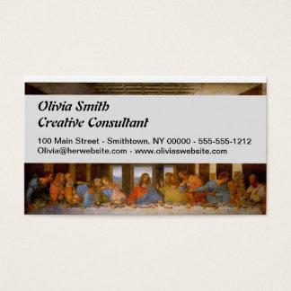 Da Vinci The Last Supper Business Card