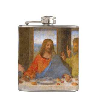 Da Vinci The Last Supper Hip Flask