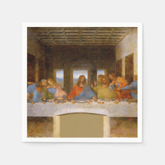 Da Vinci The Last Supper Paper Napkins