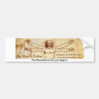 Da Vincis Cellar Bumper Sticker