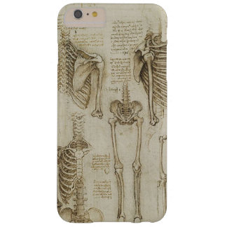 Da Vinci's Human Skeleton Anatomy Sketches Barely There iPhone 6 Plus Case