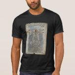 Da Vinci's Vitruvian Man T-shirts