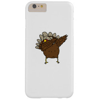 Dab Dabbing Turkey Thanksgiving Funny Barely There iPhone 6 Plus Case