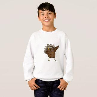Dab Dabbing Turkey Thanksgiving Funny Sweatshirt