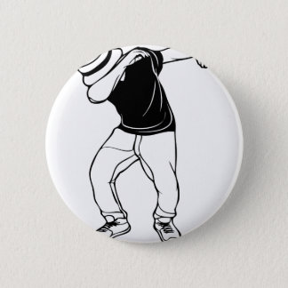 Dab Dance 2 Inch Round Button