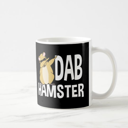Dab Hamster Funny Cute Dabbing Animal Dance Coffee Mug