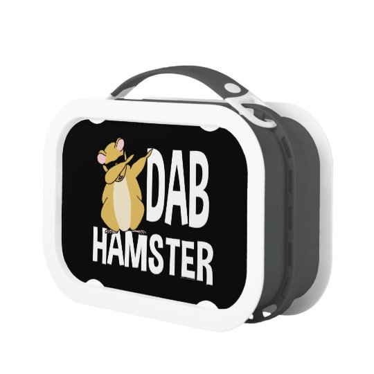 Dab Hamster Funny Cute Dabbing Animal Dance Lunch Box