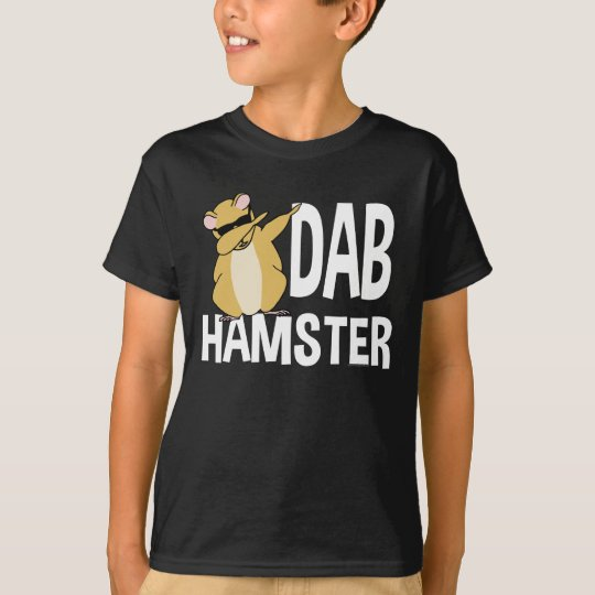 Dab Hamster Funny Cute Dabbing Animal Dance T-Shirt