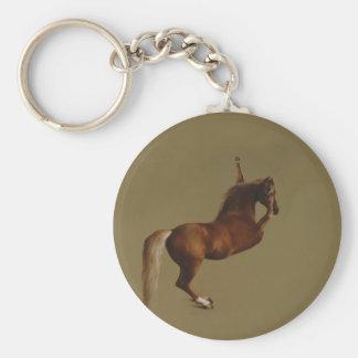 Dab Mania Gold Case Basic Round Button Keychain