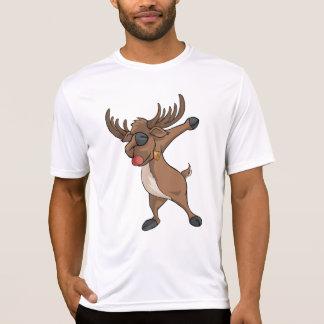 Dab Reindeer T-shirt Funny Christmas Dabbing Dance