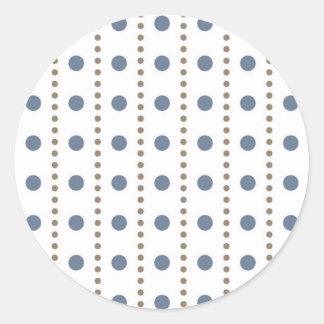dab samples dabbed circle score scored round sticker