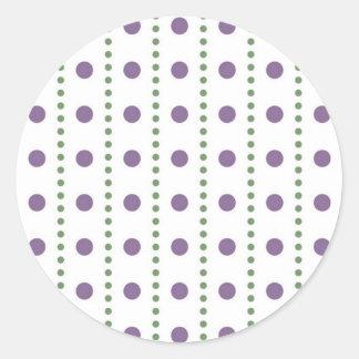 dab samples dabbed circle score scored round stickers