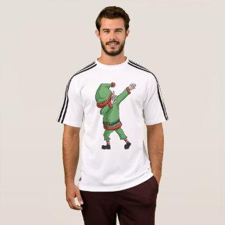 Dab Santa Elf T-shirt Funny Christmas Dabbing