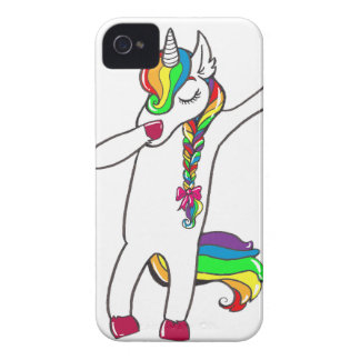 Dab unicorn Case-Mate iPhone 4 cases