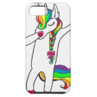 Dab unicorn iPhone 5 case