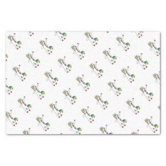 Dab unicorn tissue paper