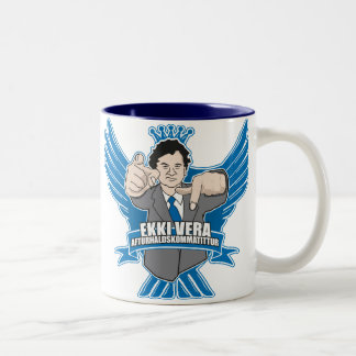 Dabbi Kóngur Two-Tone Coffee Mug