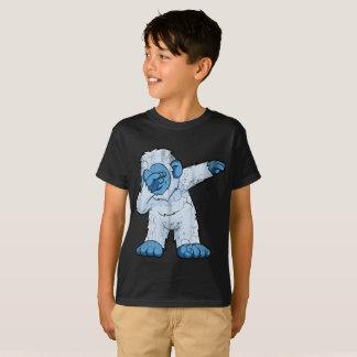 Dabbing Abominable Snowman Bigfoot T-Shirt