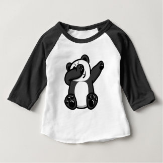Dabbing Animals Panda Baby T-Shirt