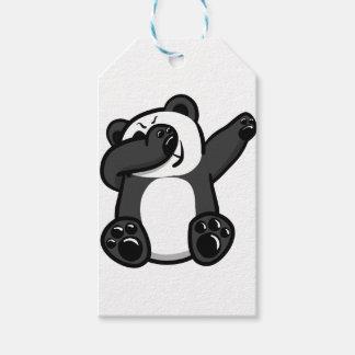 Dabbing Animals Panda Gift Tags