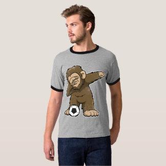 Dabbing Bigfoot Squatch Soccer Dab T-Shirt