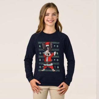 Dabbing Boston T-Shirt Funny Christmas Dab Dance