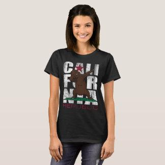 Dabbing California Republic Bear Flag Dab T-Shirt