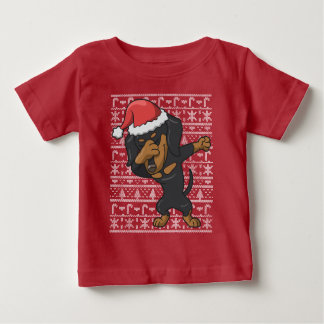 Dabbing Dachshund Ugly Christmas Sweater