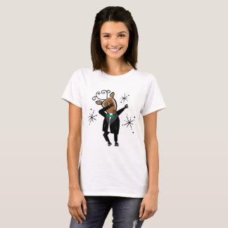 Dabbing Dasher Reindeer T-Shirt