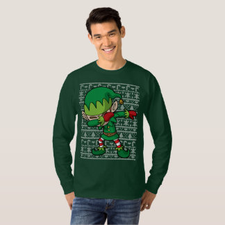 Dabbing Elf Christmas Dab T-Shirt