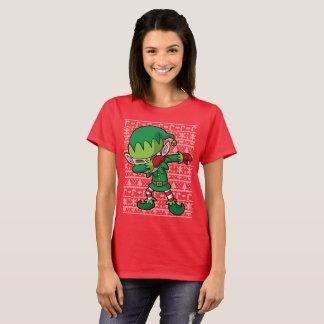 Dabbing Elf Christmas Dab T-Shirt