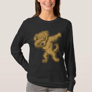 Dabbing Golden Retriever Dog Dab T-Shirt