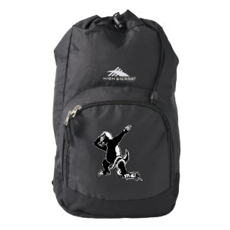 Dabbing Honey badger Backpack