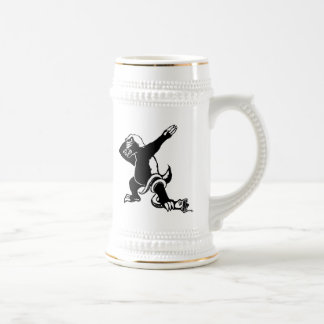 Dabbing Honey badger Beer Stein