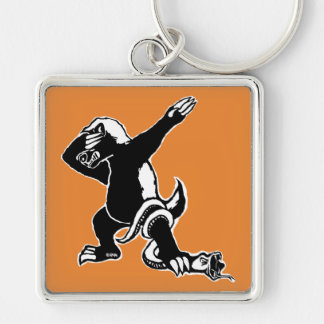 Dabbing Honey badger Keychain