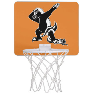 Dabbing Honey badger Mini Basketball Hoop