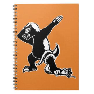Dabbing Honey badger Notebook