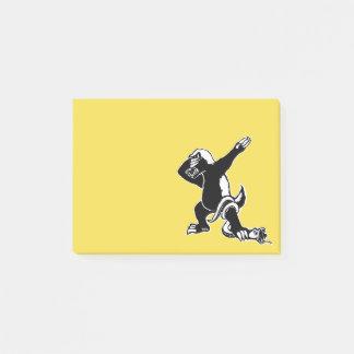 Dabbing Honey badger Post-it Notes