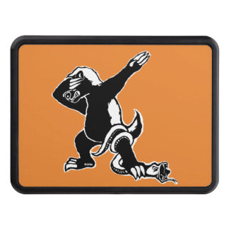 Dabbing Honey badger Trailer Hitch Cover