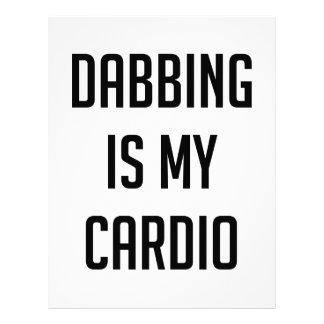 Dabbing is my Cardio Letterhead