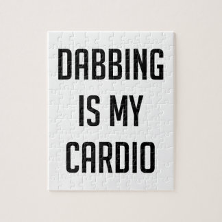 Dabbing is my Cardio Puzzle
