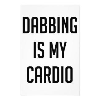 Dabbing is my Cardio Stationery