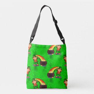 Dabbing Leprechaun Crossbody Bag