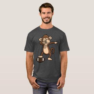 Dabbing Monkey Football Dab T-Shirt