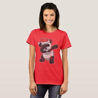 Dabbing Panda Bear Christmas T-Shirt
